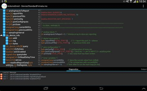ArduinoDroid – Arduino IDE for Android – Arduino Learning