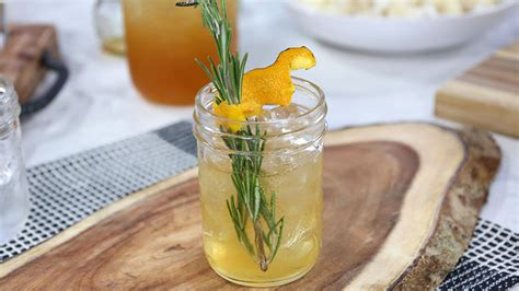 Sweet and easy campfire cocktail