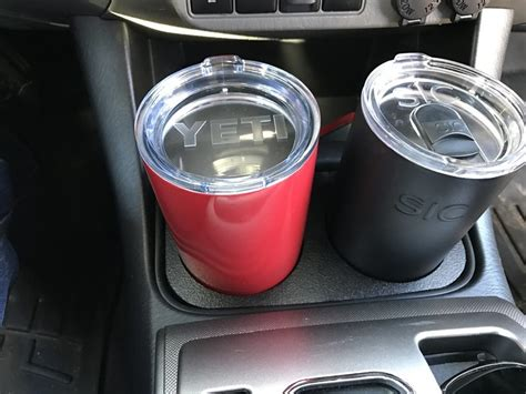 Yeti style cup holder insert For Sale | Tacoma World