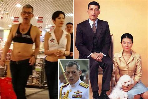 From fake tattoos to poodle Air Force chief - Thai King's