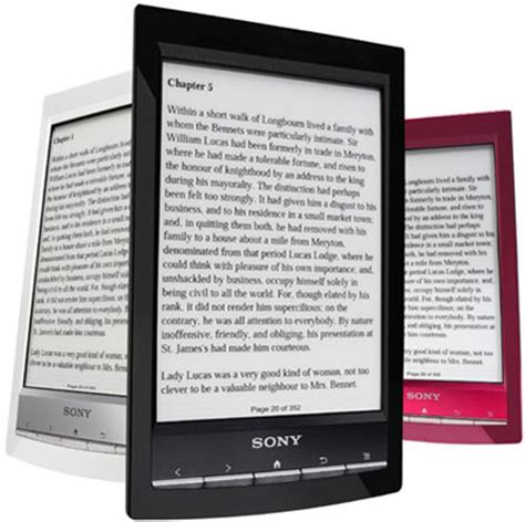 Sony Reader Wi-Fi PRS-T1 PDF Review and Web Browser Review