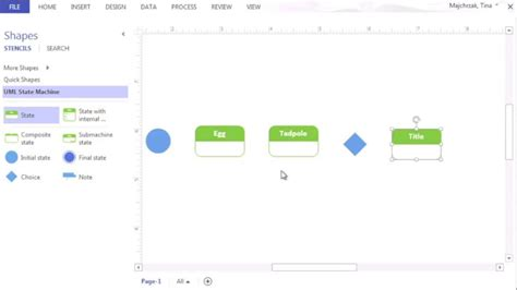 Creating a State Diagram - YouTube