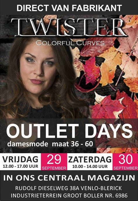 Outletverkoop Twister Colorful Curves