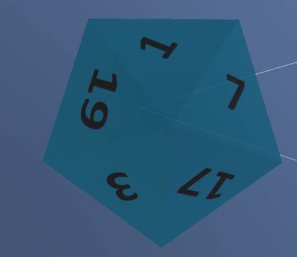 c# - How to randomly rotate a D20 Dice in Unity? - Game
