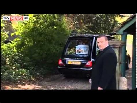 Peaches Geldof Funeral Attended By Stars - YouTube