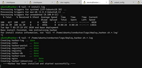 deploy and run Harbor Container Registry as VM on