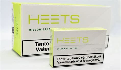 New HEETS Willow Selection variant with lime flavor   IQOS