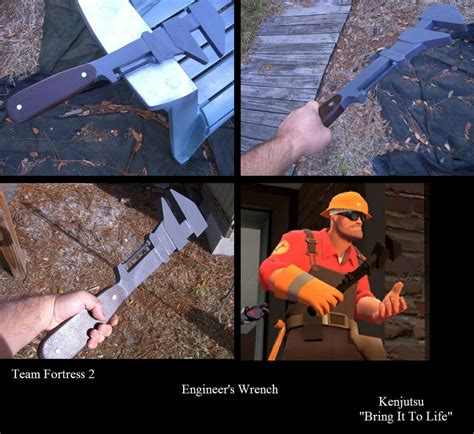 Engineer's Wrench from Team Fortress 2 (cosplay prop)   eBay