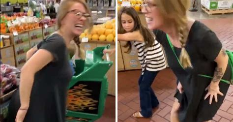 TikTok Of Mom Peeing In Store Explains Both Pregnancy And