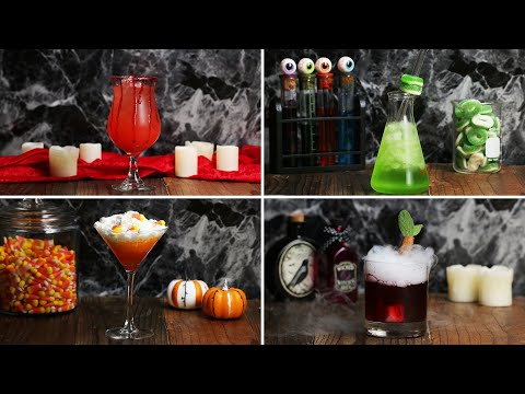 Candy Corn Cocktail- Vodka Cocktail Drink Recipe