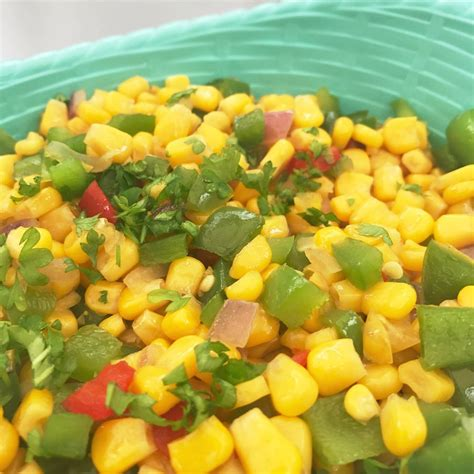 Sweet and Spicy Corn - Daisies & Pie