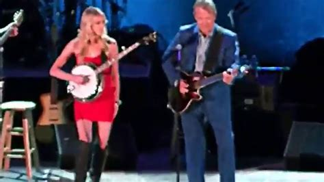 Dueling Banjos Glen Campbell and Ashley Campbell HQ - YouTube