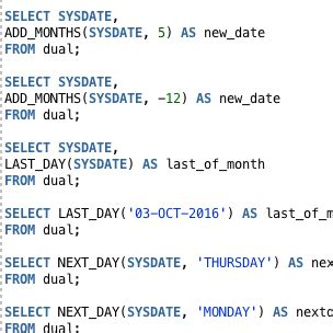 Oracle Date Functions: The Complete Guide - Database Star