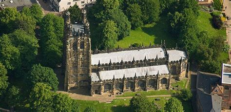 St Giles Church in Wrexham North Wales