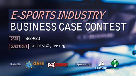 GAEE and ROX Gaming to launch the 2020 E-Sports Industry