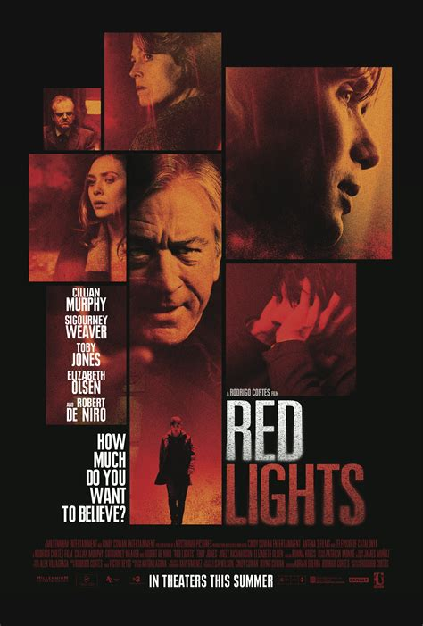 RED LIGHTS Movie Posters & Trailer Star Cillian Murphy