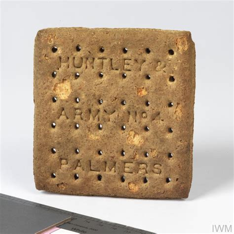 Army biscuit, British (Huntley and Palmers Army No 4