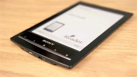 Sony Reader PRS-T1 WIFi - Sony eReader Review - YouTube