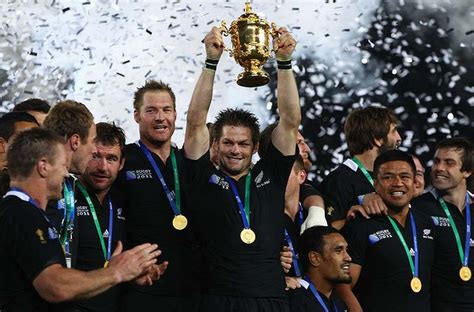 All Blacks - Rugby World Cup 2011 Champions