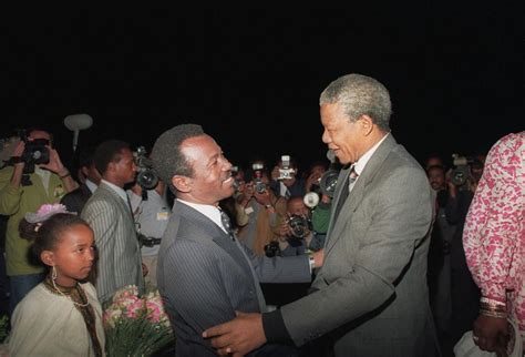 Nelson Mandela In Ethiopia: A Peacemaker's Beginnings As